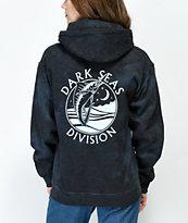 Dark Seas Night Jewel Charcoal Dye Hoodie