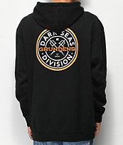 Dark Seas x Grundens Custom II Black Hoodie