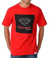 Diamond Supply Co OG Sign Red T-Shirt