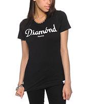 Diamond Supply Co. Champagne Black T-Shirt