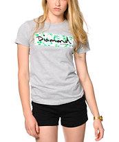 Diamond Supply Co. Floral Box Grey T-Shirt