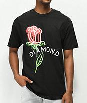 Diamond Supply Co. Rosette Black T-Shirt