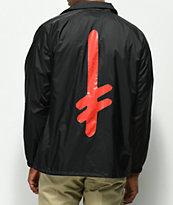 Diamond Supply Co. X Deathwish Black Coaches Jacket