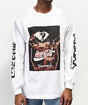 Diamond Supply Co. x Coca-Cola Photo White Long Sleeve T-Shirt
