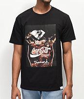 Diamond Supply Co. x Coca-Cola Photo camiseta negra