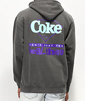 Diamond Supply Co. x Coca-Cola The Real Thing Black Washed Hoodie