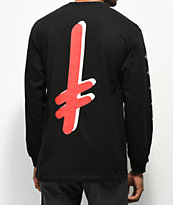Diamond Supply Co. x Deathwish Black Long Sleeve T-Shirt