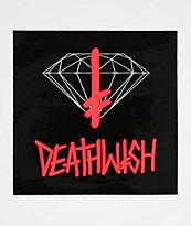 Diamond Supply Co. x Deathwish Sign Sticker