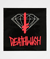 Diamond Supply Co. x Deathwish Sign pegatina