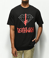 Diamond Supply Co. x Deathwish camiseta negra