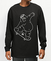 Diamond Supply Co. x Family Guy Peter Griffin camiseta negra de manga larga