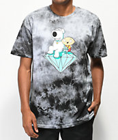 Diamond Supply Co. x Family Guy Stewie & Brian camiseta gris