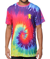Diamond Supply x Grizzly Grip Tape Torey Pudwill Tie Dye T-Shirt