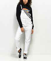 Dickies White Overalls