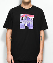Dipset x Yung Lenox Purple Haze Black T-Shirt
