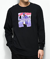 Dipset x Yung Lenox Purple Haze camiseta negra de manga larga