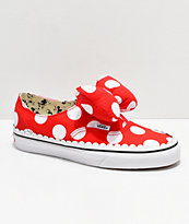 Disney by Vans Authentic Minnie's Bow Slip-On Skate Shoes