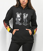 Disney by Vans Punk Mickey Black Hoodie