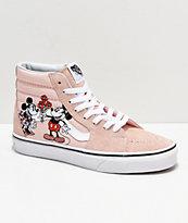 Disney by Vans Sk8-HI Mickey & Minnie zapatos skate en rosa