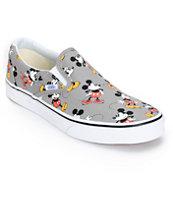 Disney x Vans Slip On Mickey Mouse Skate Shoes