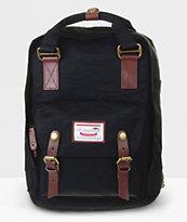 Doughnut Macaroon Black Backpack