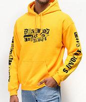 Dreamboy Cut Throats sudadera con capucha amarilla