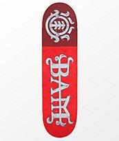 """Element Bam Margera 8.25"""" Red Skateboard Deck"""