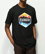 Element Dusk camiseta negra