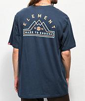 Element Lateral camiseta azul marino