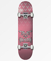 "Element x BAM x HIM Pink 7.75"" Skateboard Complete"