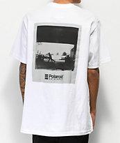 Element x Brian Gaberman Polaroid camiseta blanca