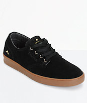 Emerica Romero Laced zapatos de skate en negro y goma