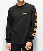 Emerica Skulleye Black Long Sleeve T-Shirt
