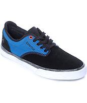 Emerica x Deathwish Wino G6 zapatos de skate en negro, azul y blanco