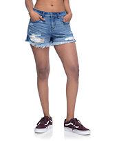 Empyre Adrian shorts rotos con cintura alta
