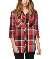 Empyre Courtland Red & Black Flannel