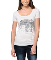 Empyre Elephant Ink Scoop Neck T-Shirt