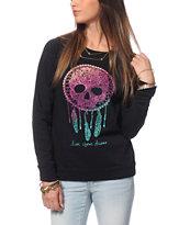 Empyre Frankie Skull Dreamcatcher Crew Neck Sweatshirt