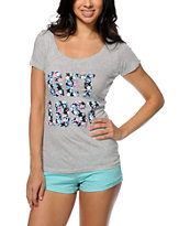 Empyre Get Lost Scoop Neck Tee Shirt
