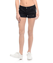 Empyre Jenna Black Destroyed Shorts