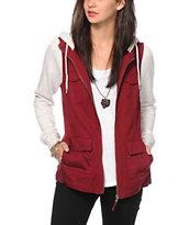 Empyre Lamont Dark Red Jacket