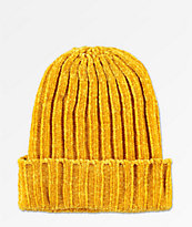 Empyre Lux Golden Yellow Beanie