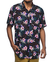 Empyre Night Moves camisa tropical tejida