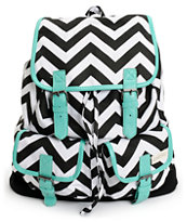 53627674fd Empyre Serene Chevron Stripe Rucksack Backpack