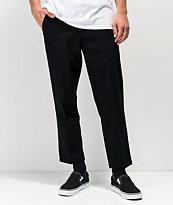 Empyre Seth Black Cropped Chino Pants
