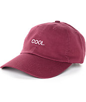 Empyre Solstice Cool Burgundy Baseball Hat