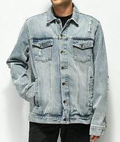Empyre Ticket chaqueta de mezclilla azul claro