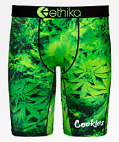 Ethika x Cookies Hurricane Green Boxer Briefs