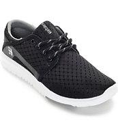 Etnies Scout Black & White Shoes