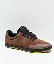 x negro Zumiez Marana y zapatos skate Michelin marrón goma de Etnies en 6qdBw6